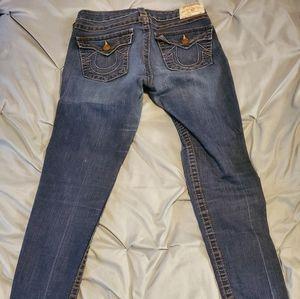 Womens Skinny True Religion Jeans